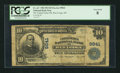 National Bank Notes:Montana, Red Lodge, MT - $10 1902 Plain Back Fr. 627 The United States NB Ch. # 9841. ...