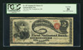 National Bank Notes:Ohio, Youngstown, OH - $2 Original Fr. 387 The First NB Ch. # 3. ...