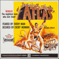 "Movie Posters:Action, Atlas (Film Group, 1961). Six Sheet (78"" X 80""). Action.. ..."