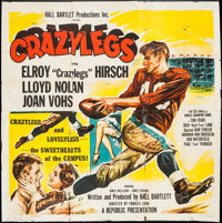 "Crazylegs (Republic, 1953). Six Sheet (78"" X 80""). Sports"