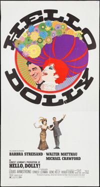 "Hello Dolly! (20th Century Fox, 1969). Three Sheet (41"" X 77""). Musical"