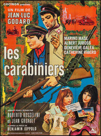 "The Carabineers (Cocinor, 1968). French Grande (46"" X 62.25""). Foreign"