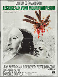 "Birds in Peru (Universal, 1968). French Grande (47"" X 63""). Foreign"