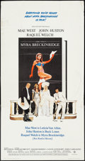 "Movie Posters:Comedy, Myra Breckinridge (20th Century Fox, 1970). Three Sheet (41"" X 79""). Comedy.. ..."