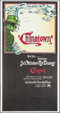"Chinatown (Paramount, 1974). International Three Sheet (41"" X 77""). Mystery"