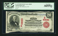 National Bank Notes:West Virginia, Williamson, WV - $20 1902 Red Seal Fr. 639 The First NB Ch. # (S)6830. ...