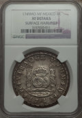 Mexico, Mexico: Ferdinand VI Pillar 8 Reales 1749 Mo-MF XF Details (SurfaceHairlines) NGC,...