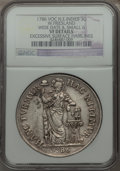 Netherlands East Indies, Netherlands East Indies: Dutch Colony. Westfriesland 3 Gulden1786-VOC VF Details (Excessive Surface Hairlines) NGC,...
