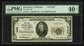 National Bank Notes:California, Alhambra, CA - $20 1929 Ty. 1 The First NB Ch. # 8490. ...