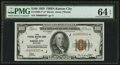 Fr. 1890-J* $100 1929 Federal Reserve Bank Note. PMG Choice Uncirculated 64 EPQ