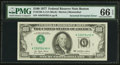 Error Notes:Inverted Third Printings, Fr. 2168-A $100 1977 Federal Reserve Note. PMG Gem Uncirculated 66EPQ.. ...