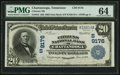 National Bank Notes:Tennessee, Chattanooga, TN - $20 1902 Date Back Fr. 644 Citizens NB Ch. #(S)9176. ...
