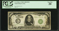 Fr. 2210-G $1,000 1928 Federal Reserve Note. PCGS Very Fine 20