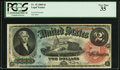 Large Size:Legal Tender Notes, Fr. 42 $2 1869 Legal Tender PCGS Very Fine 35.. ...