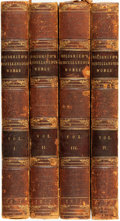 Books:Literature Pre-1900, Oliver Goldsmith. Washington Irving, editor. The MiscellaneousWorks of Oliver Goldsmith. Paris: A. and W. Galig... (Total: 4Items)