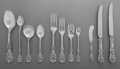 Silver Flatware, American:Reed & Barton, A One Hundred-and-Thirty Piece Reed & Barton Francis IPattern Silver Flatware Service for Twelve, Taunton, Mass...(Total: 130 Items)