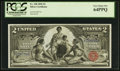 Large Size:Silver Certificates, Fr. 248 $2 1896 Silver Certificate PCGS Very Choice New 64PPQ.. ...