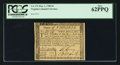 Colonial Notes:Virginia, Virginia May 1, 1780 $2 PCGS New 62PPQ.. ...