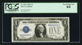 Small Size:Silver Certificates, Low Serial Number Fr. 1601 $1 1928A Silver Certificate. PCGS Very Choice New 64.. ...