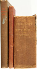 Books:Medicine, [Medicine]. Trio of Books Related to Microscopes. Variouspublishers and dates.... (Total: 3 Items)
