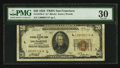 Fr. 1870-L* $20 1929 Federal Reserve Bank Note. PMG Very Fine 30