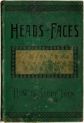 Books:Natural History Books & Prints, Nelson Sizer and H. S. Drayton. Heads and Faces, and How to Study Them... New York: Fowler & Wells Co., 1885....