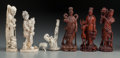 Decorative Arts, Continental:Other , A Group of Seven Asian Decorative Items, 20th century . 8-1/4inches high (21.0 cm) largest). Note: Because this lot con...(Total: 7 Items)