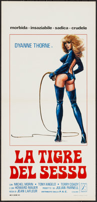 "Ilsa the Tigress of Siberia (P.A.C., 1978). Italian Locandina (13"" X 27.5""). Exploitation"