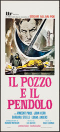 "Movie Posters:Horror, The Pit and the Pendulum (IIF, R-1975). Italian Locandina (12.5"" X27.5""). Horror.. ..."