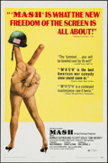 """Movie Posters:Comedy, MASH (20th Century Fox, 1970/R-1973). One Sheets (2) (27"""" X 41""""). Comedy.. ... (Total: 2 Items)"""