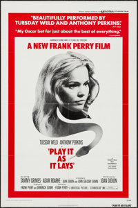 """Play It As It Lays & Others Lot (Universal, 1972). One Sheets (6) (27"""" X 41"""") & Half Sheet (22"""" X..."""