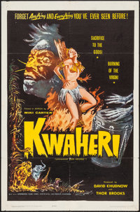 """Kwaheri & Others Lot (Afromerica Films, 1965). One Sheets (2) (27"""" X 41"""") & Lobby Cards (2) (1..."""