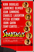 "Movie Posters:Action, Spartacus & Other Lot (Universal International, 1960).International Roadshow One Sheet (27"" X 41"") & One Sheet (27"" X41"").... (Total: 2 Items)"