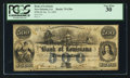 Obsoletes By State:Louisiana, New Orleans, LA- Bank of Louisiana $500 June 14, 1862 G30a. ...