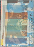 Fine Art - Work on Paper:Print, Robert Rauschenberg (American, 1925-2008). Blanket Samples,1963. Offset lithograph in colors on paper. 27-3/4 x 19-3/4 ...
