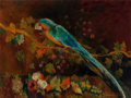 Fine Art - Painting, European:Antique  (Pre 1900), Luís Graner Arrufi (Spanish, 1863-1929). Still Life withMacaw. Oil on canvas. 30 x 40 inches (76.2 x 101.6 cm). Signed...