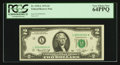 Small Size:Federal Reserve Notes, Low Serial Number L00000004A Fr. 1935-L $2 1976 Federal Reserve Note. PCGS Very Choice New 64PPQ.. ...