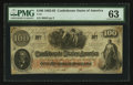 Confederate Notes:1862 Issues, T41 $100 1862 PF-27 Cr. 322A.. ...