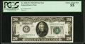Small Size:Federal Reserve Notes, Fr. 2050-I* $20 1928 Federal Reserve Note. PCGS Choice About New 55.. ...