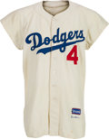Baseball Collectibles:Uniforms, 1956 Duke Snider Game Worn Brooklyn Dodgers Jersey....