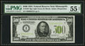 Small Size:Federal Reserve Notes, Fr. 2201-I $500 1934 Light Green Seal Federal Reserve Note PMG About Uncirculated 55 Net.. ...