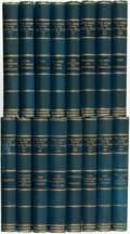Books:Americana & American History, [Civil War]. John G. Nicolay. The Army in the Civil War,Vols. I - XIII; The Navy in the Civil War, Vols. XIV - XV...(Total: 16 Items)