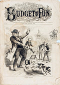 Books:Periodicals, [Illustrated Periodicals, Cartoons]. Frank Leslie's BudgetFun, No. 173. August, 1872....