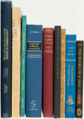 Books:Books about Books, [Bibliography]. Group of Nine Bibliographies of Americana, One ofwhich is SIGNED. Various publishers and dates. ... (Total: 9 Items)