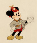 Animation Art:Production Drawing, The Pointer Mickey Mouse and Bear Color Model AnimationDrawing Group (Walt Disney, 1939).... (Total: 5 Items)
