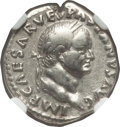 Ancients:Roman Imperial, Ancients: Vespasian (AD 69-79). AR denarius (3.47 gm)....