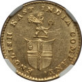 India:British India, India: Madras Presidency gold 5 Rupees ND (1820) MS62 NGC,...