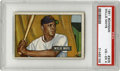 Baseball Cards:Singles (1950-1959), 1951 Bowman Willie Mays #305 PSA VG-EX 4. Offered here is a niceexample of the extremely tough and only recognized Willie ...
