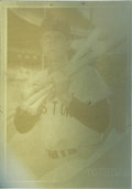 Baseball Cards:Singles (1960-1969), 1962 Topps Carl Yastrzemski #425 Proof Card. Thin aluminum proof ofYaz' third Topps card is a one-of-a-kind relic from the...