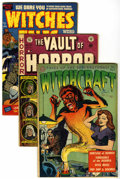 Golden Age (1938-1955):Horror, Miscellaneous Golden Age Horror Group (Various Publishers,1951-52).... (Total: 5 Comic Books)